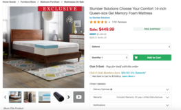 Queen size sleigh bed with like new memory foam mattress in Camp Lejeune, North Carolina