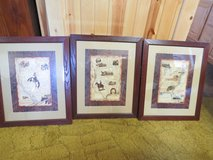 3 old map pictures in Ottumwa, Iowa