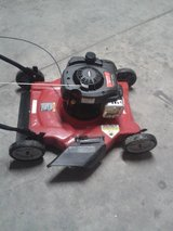 Newer cheap push mower in Fort Carson, Colorado