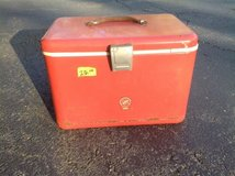 Vintage Red Cooler in Bartlett, Illinois