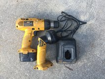 Dewalt 12-Volt 3/8 in. Cordless Drill and Flashlight in Camp Lejeune, North Carolina