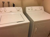 hotpoint washer/dryer set 18 months old in Travis AFB, California