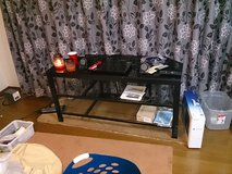 Large glass TV stand (Last Chance!) in Okinawa, Japan