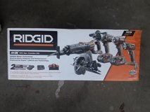 NIB 18v Rigid 5pc tool set in Morris, Illinois