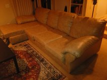 Bonded Leather Sectional in Vista, California