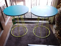 Two side tables in Alamogordo, New Mexico