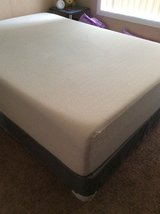 Memory Foam Mattress with box spring in Fort Campbell, Kentucky