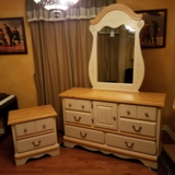 Girls dresser, mirror, and end table - Princess Bouquet set in Joliet, Illinois
