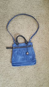 Leather SAK top handle & crossbody purse w/ side pocket and two pouch pockets and zippered pocke... in Fairfield, California