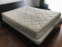Queen size bed mattress in Okinawa, Japan