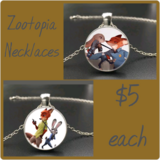 Zootopia Necklaces in Fort Benning, Georgia