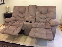 Two huge barely-used couches for sale in Okinawa, Japan