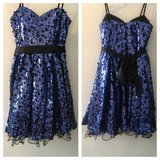 Royal Blue Party Dress in Ramstein, Germany