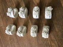 8 Bone China Napkin Rings in Warner Robins, Georgia