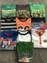 Boys summer shirts and polos 4-5T in Wheaton, Illinois