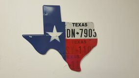 STATE OF TEXAS wall decor in Baytown, Texas