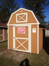 8x12 Lofted Barn Storage Building Shed DISCOUNTED!! in Valdosta, Georgia
