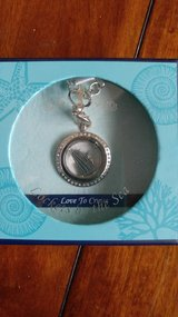 Lockets by the sea cruise ship necklace silver new in box with tags in Lockport, Illinois