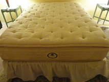 Stearns and Foster Queen bed in Lockport, Illinois