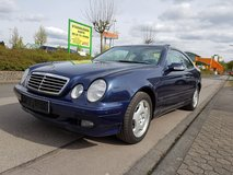 2001 Automatic Mercedes CLK coupe *52 KMILS ONLY *FULL OPTION*NEW INSPECTION in Spangdahlem, Germany