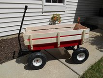 Big Foot Heavy Duty Kids Wagon Wooden Panels Brand New!! in Aurora, Illinois
