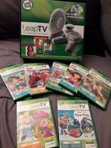 Leap TV + 7 games in Travis AFB, California