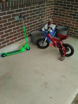 boys bike and scooter in Fort Rucker, Alabama