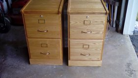 Small wooden filing cabinets in Elgin, Illinois