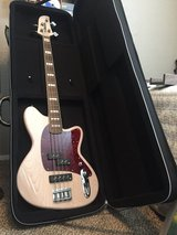 Ibanez TMB600 Bass and padded Road Runner case in Lawton, Oklahoma