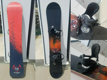Rossignol Snowboard With Ride Bindings and gear in Vista, California