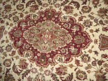 100% Pure Wool Pile Rug - Made in Romania in San Clemente, California