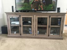 wooden entertainment center in Travis AFB, California