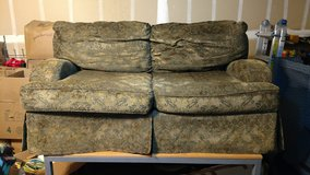 Couch and love seat in Travis AFB, California