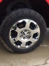 """F150 20"""" Chrome wheels (set of 4 and matching spare) in Birmingham, Alabama"""