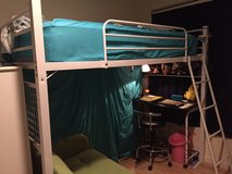 Single Bunk Bed with desk area in Okinawa, Japan