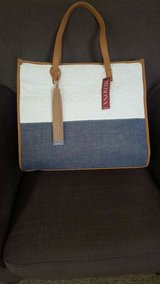 *New* White and Chambray Blue Merona Tote in Vacaville, California
