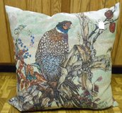 Pheasant accent pillow in Palatine, Illinois