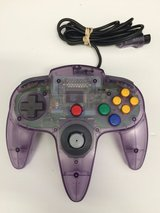 Original Nintendo Atomic Purple N64 controller GREAT CONDITION in Vista, California