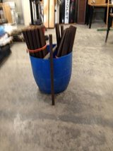 55 each Dark stained cedar pickets in Fort Lewis, Washington