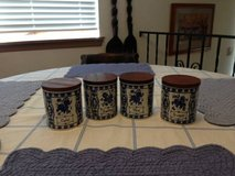 Delft kitchen canister set in Fort Lewis, Washington