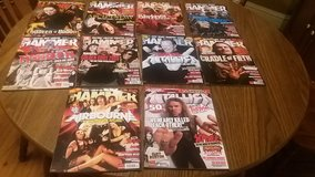Metal Hammer Magazines (April '08 to December '08) in Lockport, Illinois