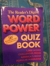 Reader's Digest Word Power Quiz Book. NEW in Okinawa, Japan