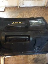 Army Carry on bag, pull along in Lackland AFB, Texas