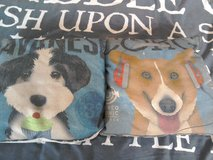 2 cushions with dogs on in Lakenheath, UK