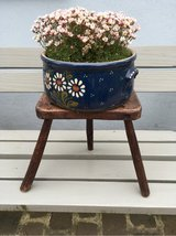 nice antique little milking stool from France - Shabby Chic in Ramstein, Germany