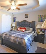Queen bedroom set in Camp Lejeune, North Carolina