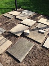 slate patio pavers in Chicago, Illinois