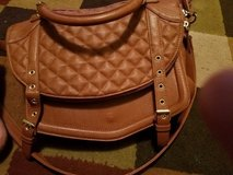 Steve Madden tan purse new condition in Hinesville, Georgia
