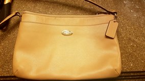 Beige coach crossbody in Camp Pendleton, California