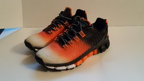 Boombah Turf Shoes Youth Size 4 Black & Orange Boy or Girl in Camp Lejeune, North Carolina